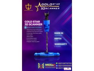 Gold Star 3D Scanner Metal Detector 2021