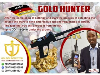 Ger detect Long Range Gold Hunter device