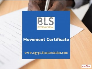 What is the Movement Certificate online.