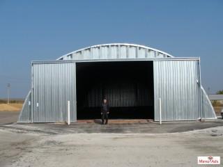Arch building - hangars - 2021