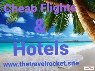 Cheap flights and hotels worldwide