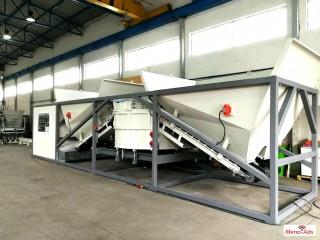 Movable concrete factory SUMAB K 40