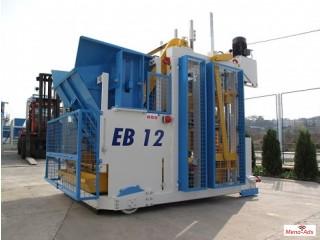 Movable concrete block machine egglayer Sumab E12