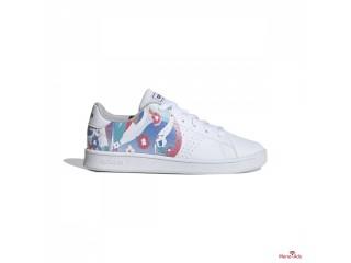 Chaussures casual enfant Adidas Advantage Blanc