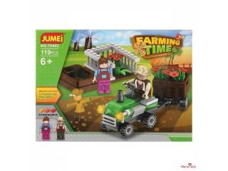Jeu de construction avec blocs Farming Time