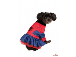 Costume robe Spiderman chien