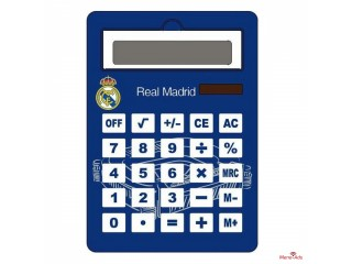 Calculatrice Jumbo Real Madrid C.F. Solaire Bleu