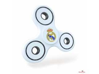 Spinner Pro Real Madrid C.F. Blanc