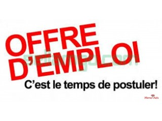 OFFRE D'EMPLOI,RECRUTEMENT MULTI-SECTORIELS!!!