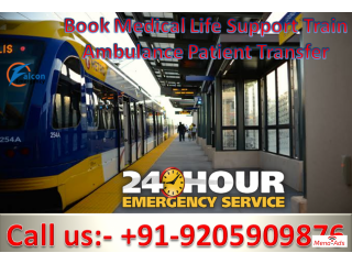 Falcon Emergency - Get Safest Train Ambulance in Kolkata at a Reasonable Cost