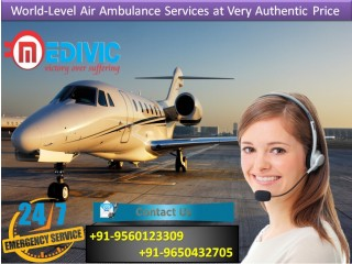 Choose Hi-tech Support by Medivic Air Ambulance Services in Bangalore