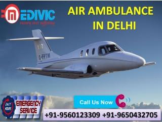 Pick Hi-fi Emergency Tools by Medivic Air Ambulance Services in Delhi