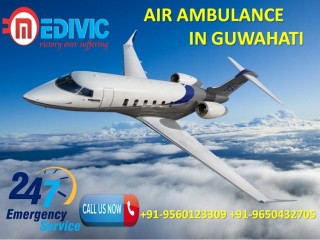 Use Top-Tier Emergency Care by Medivic Air Ambulance Services in Guwahati