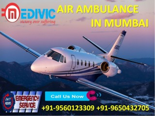 Avail Leading Transport by Medivic Air Ambulance Services in Mumbai