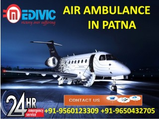 Get Smart ICU Support by Medivic Air Ambulance Services in Patna