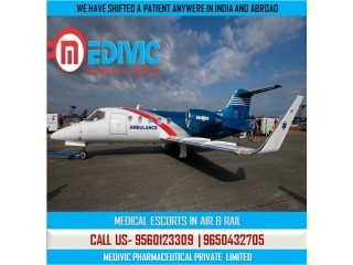 Take Most Economical and Finest Air Ambulance Service in Delhi by Medivic
