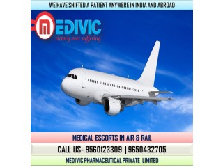 Use Unparallel Medical care Air Ambulance Service in Guwahati by Medivic