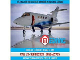 Book Top-Notch Healthcare by Medivic Air Ambulance Service in Kolkata