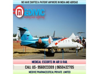 Choose Excellent ICU Specialist Air Ambulance Service in Patna by Medivic