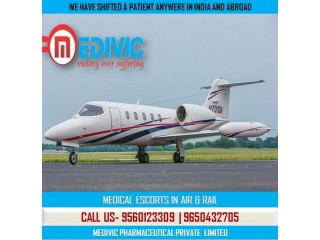 Cardinal Relocation with ICU Care by Medivic Air Ambulance Ranchi to Bangalore