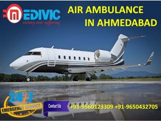 Now Book Top-Class Air Ambulance Services in Ahmedabad by Medivic