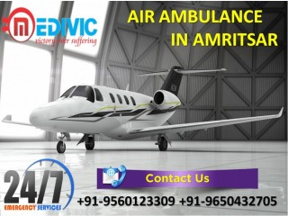 Hire Very Normal Cost by Medivic Air Ambulance Services in Amritsar