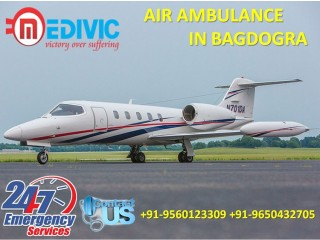 Book Life Support System by Medivic Air Ambulance Services in Bagdogra