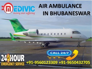 Choose Life-Saver Emergency Air Ambulance Services in Bhubaneswar by Medivic