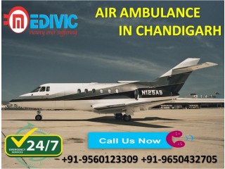 Avail Most Reliable ICU Care by Medivic Air Ambulance Services in Chandigarh