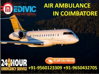Use Cost-Effective Emergency Air Ambulance Services in Coimbatore by Medivic