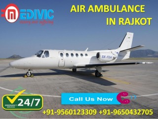 Take Precise Emergency Care by Medivic Air Ambulance Services in Rajkot