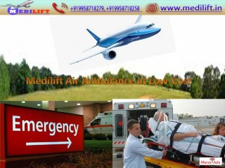 Now Receive Medilift Air Ambulance from Kolkata with ICU Facility