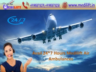 Pick Top-Level Air Ambulance Service in Indore by Medilift