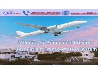 Book Hi-Tech Air Ambulance Service in Jabalpur by Medilift