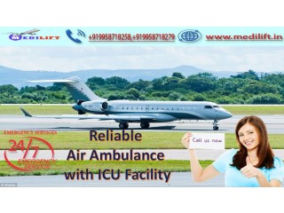 Hire Classy Air Ambulance Service in Raipur with Medical Facility
