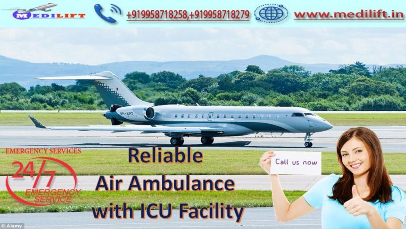 hire-classy-air-ambulance-service-in-raipur-with-medical-facility-big-0