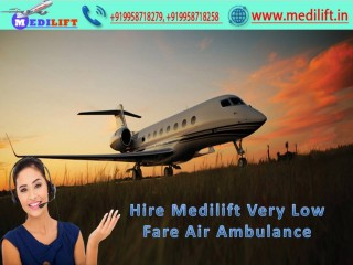 Reliable Commercial Air Ambulance in Kolkata with Doctor Facility