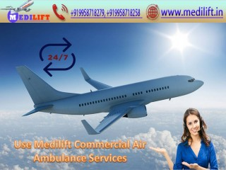 Pick Masterly Air Ambulance Patna to Mumbai by Medilift