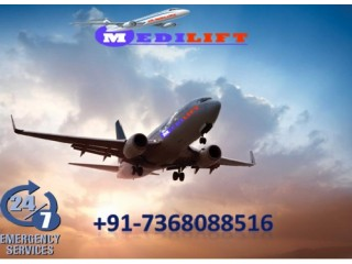Avail Superior Air Ambulance Service in Nagpur with ICU Setup